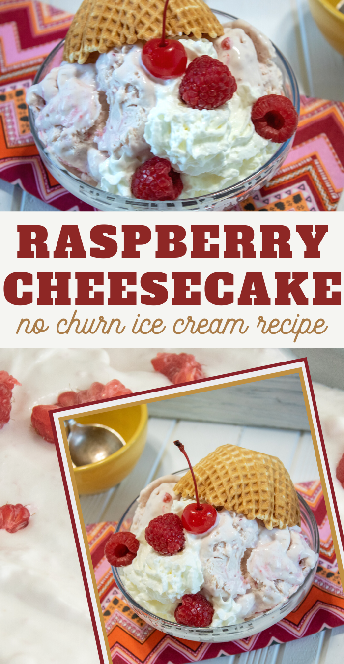 raspberry cheesecake ice cream recipe