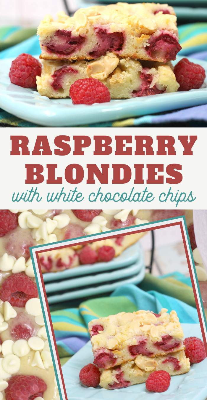 raspberry white chocolate blondies recipe