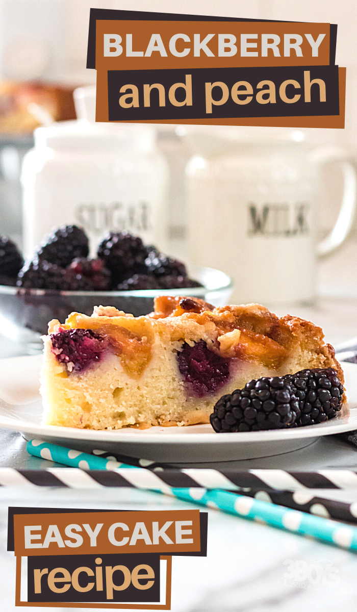 easy blackberry peach cake recipe