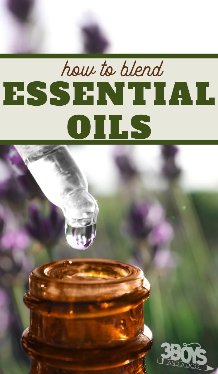 instructions for blending essential oils