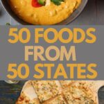 each states most famous recipe