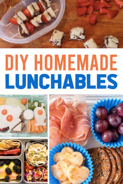DIY Homemade Lunchables for Kids