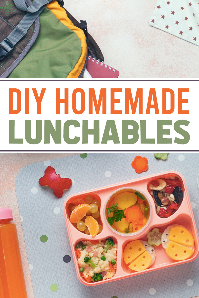homemade lunchable ingredients and ideas