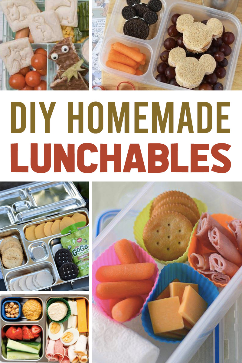 make your own lunchables for children at home