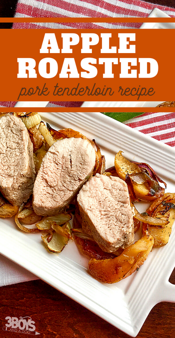 wow your guests with this delicious pork tenderloin and roasted apple dinner