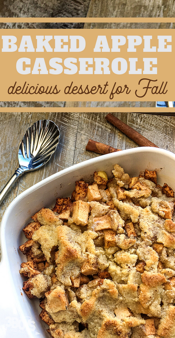 wow your guests with this delicious apples and cinnamon baked dessert recipe