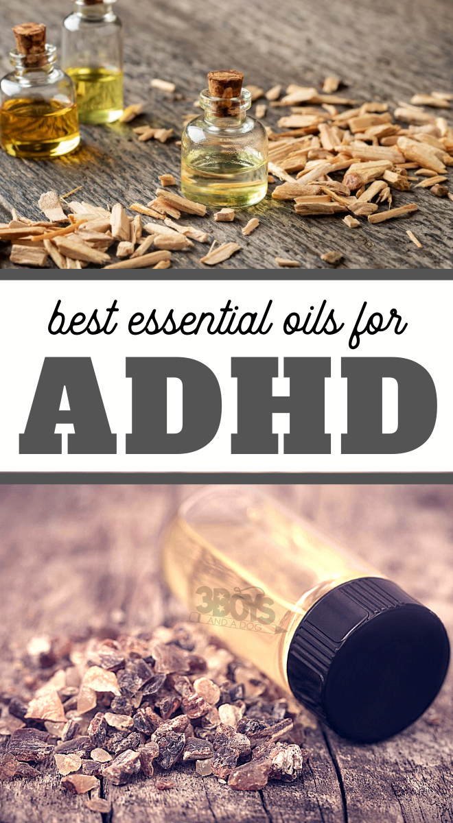 what oils should I use to help my ADHD child focus and relax
