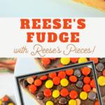 buckeye fudge with peanut butter candies