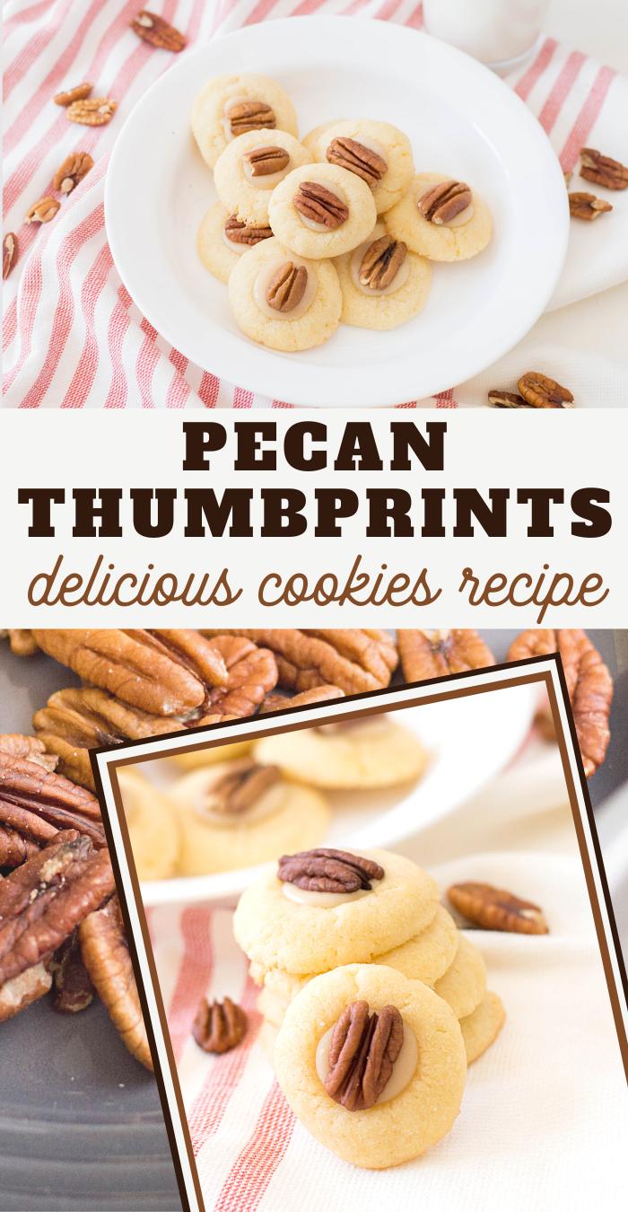 pecan thumbprint cookies for fall