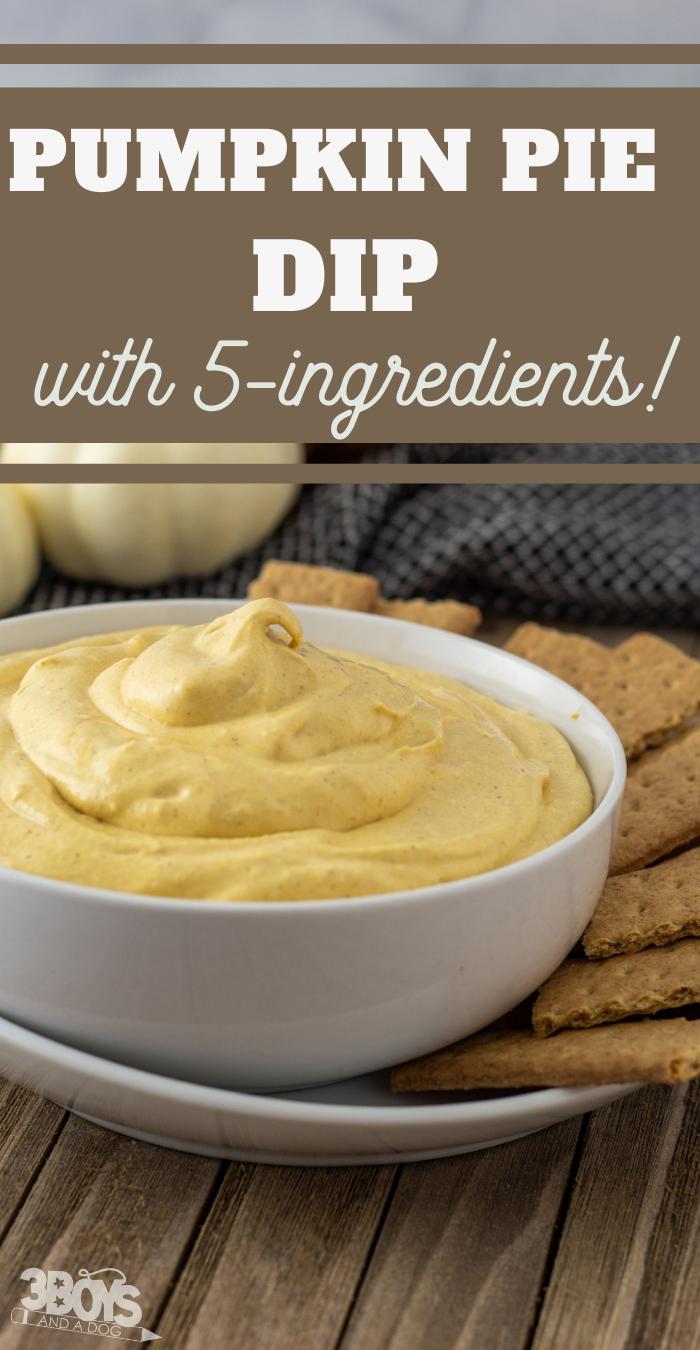 easy five ingredient sweet dip
