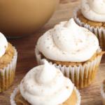 fall cupcake recipe that tastes like a pumpkin spiced latte
