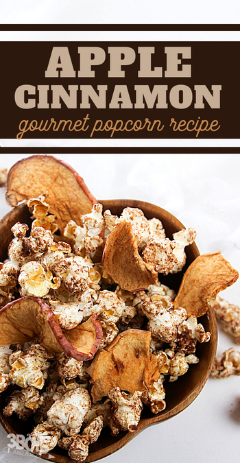 wow your guests with the delicious fall flavors of this gourmet popcorn snack recipe