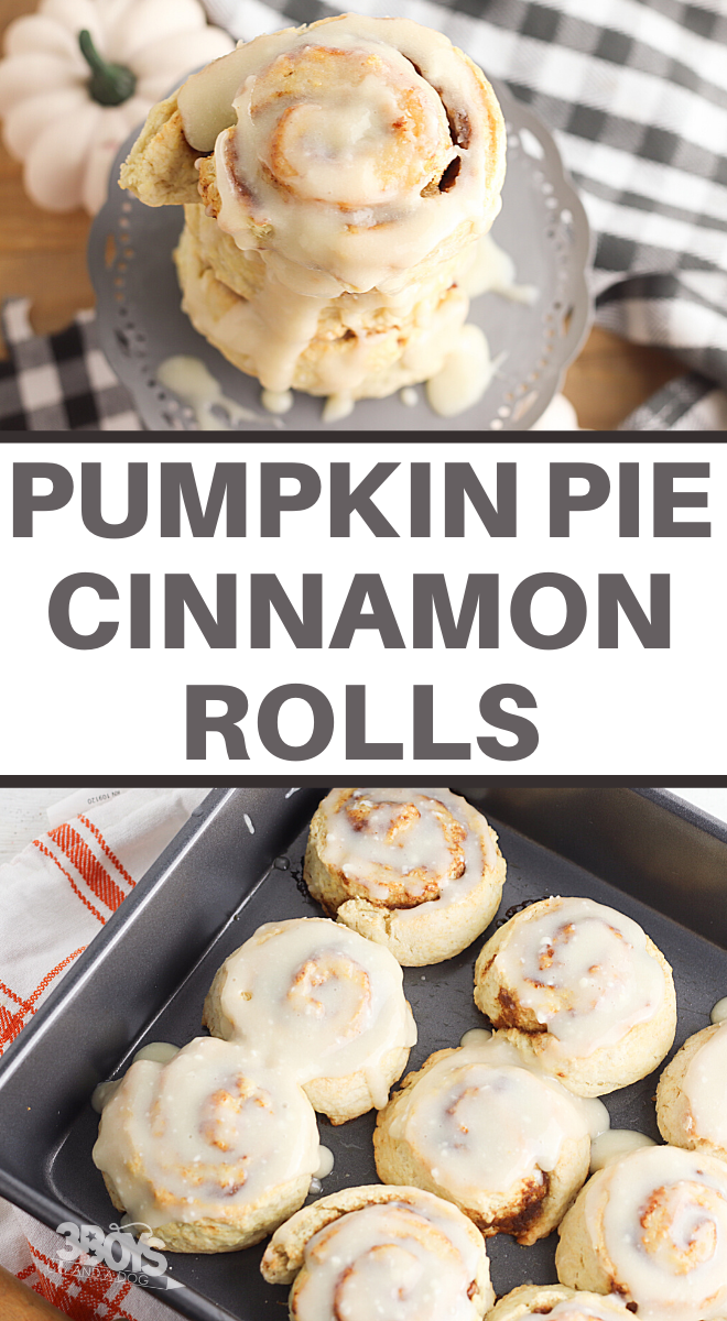 breakfast recipe of pumpkin spice and cream cheese icing