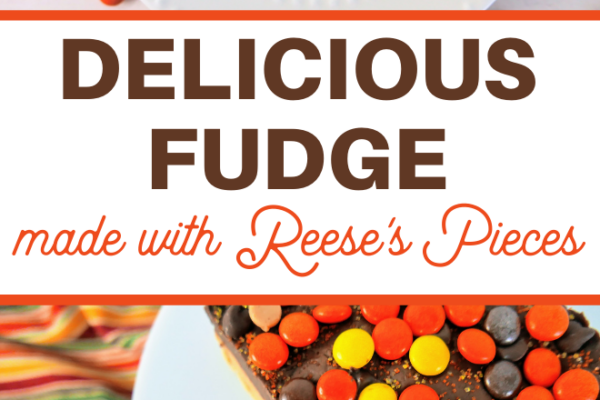 creamy peanut butter fudge with a chocolate layer