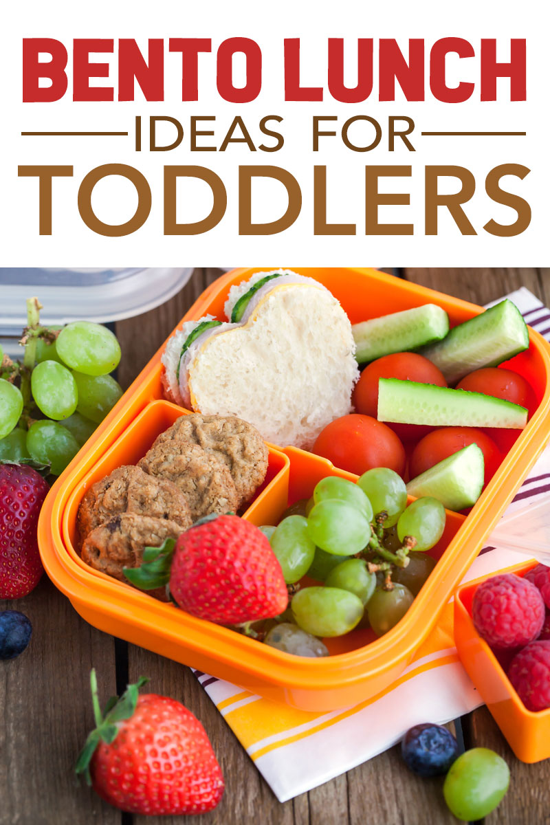 bento lunch ideas for toddlers