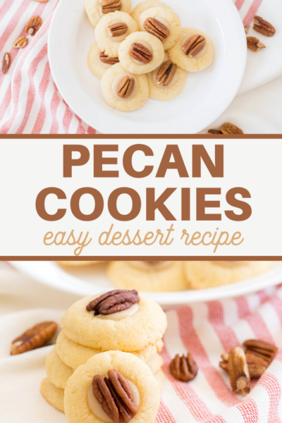 this sugar cookie and pecan recipe is full of wonderful autumn flavors