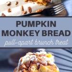 this pull-apart monkey bread is full of the wonderful autumn flavor of pumpkin spice