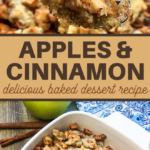 delicious baked apples with cinnamon dessert recipe
