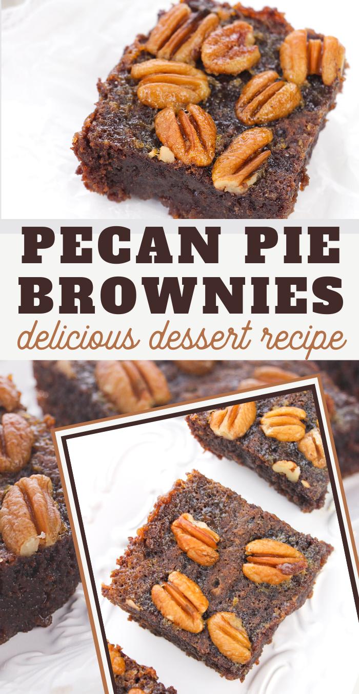 pecan pie brownies recipe