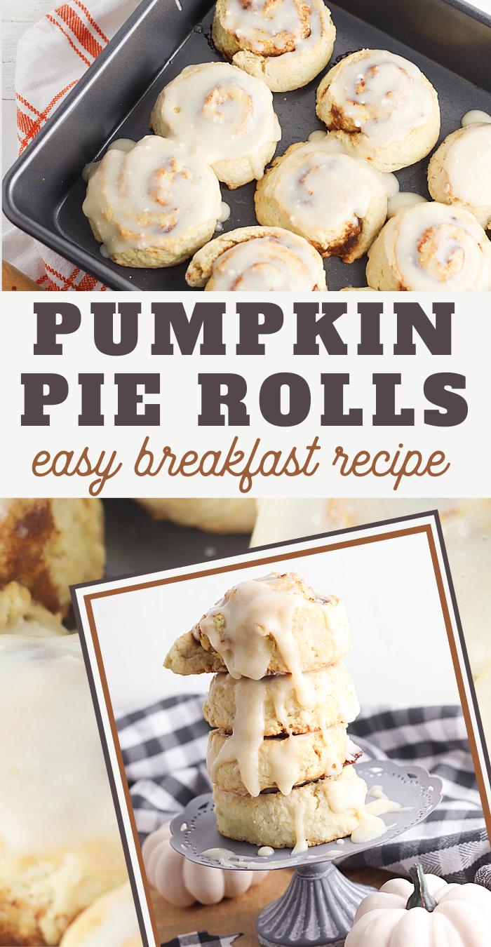 pumpkin pie cinnamon rolls recipe