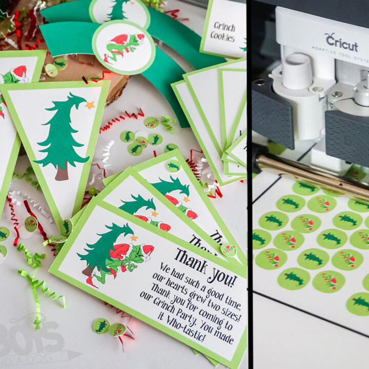 Grinch Printable Party Set