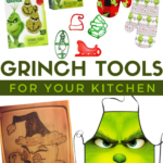 must have grinch themed kitchen tools for a fun Christmas