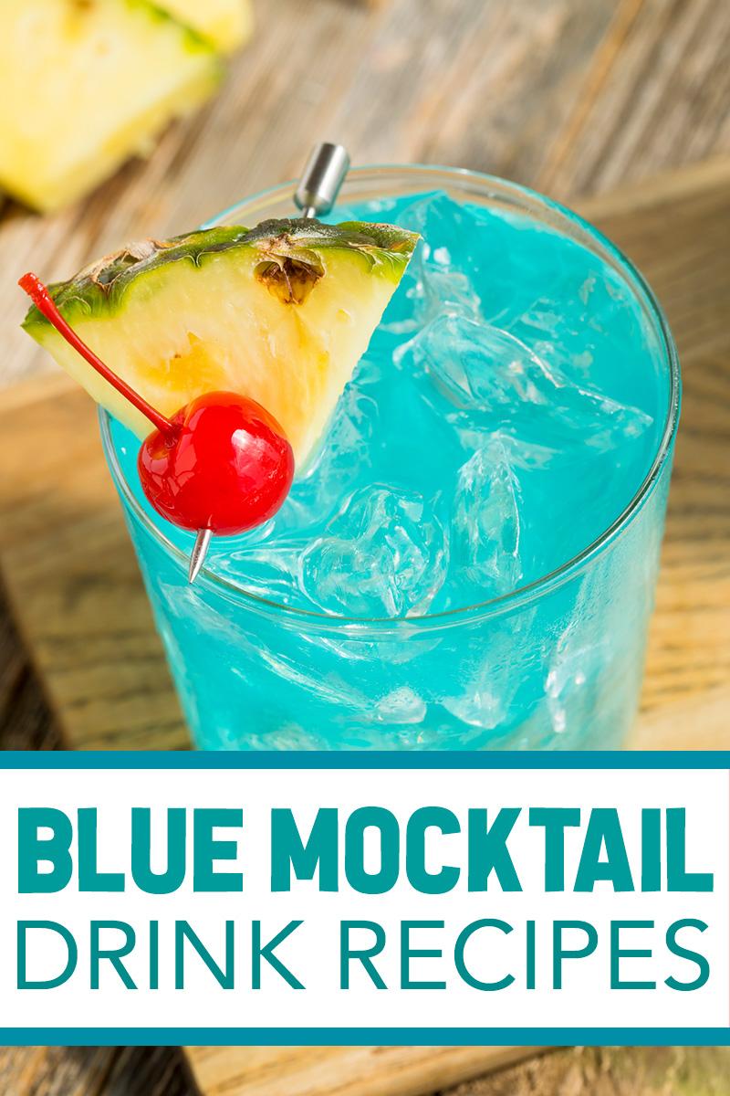 blue mocktail recipes