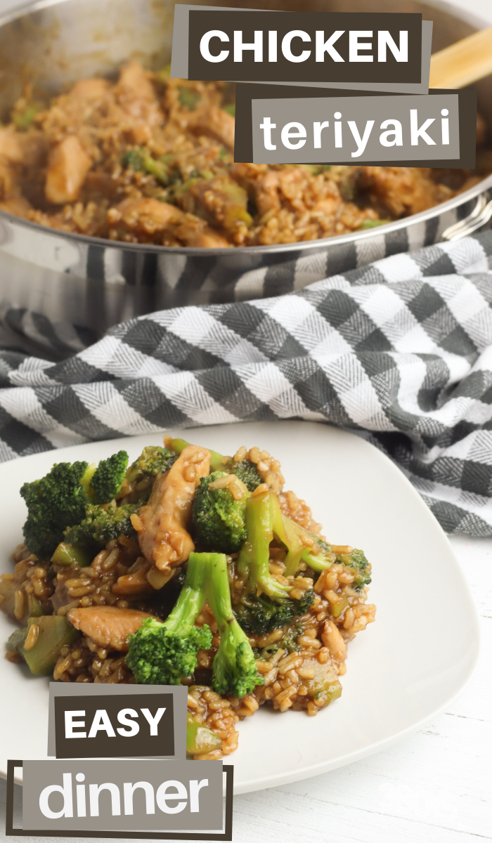 this teriyaki chicken and broccoli skillet recipe is so easy and yummy