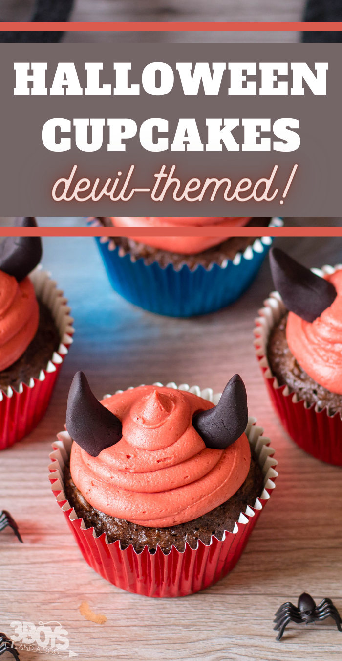 chocolate cupcakes for halloween parties