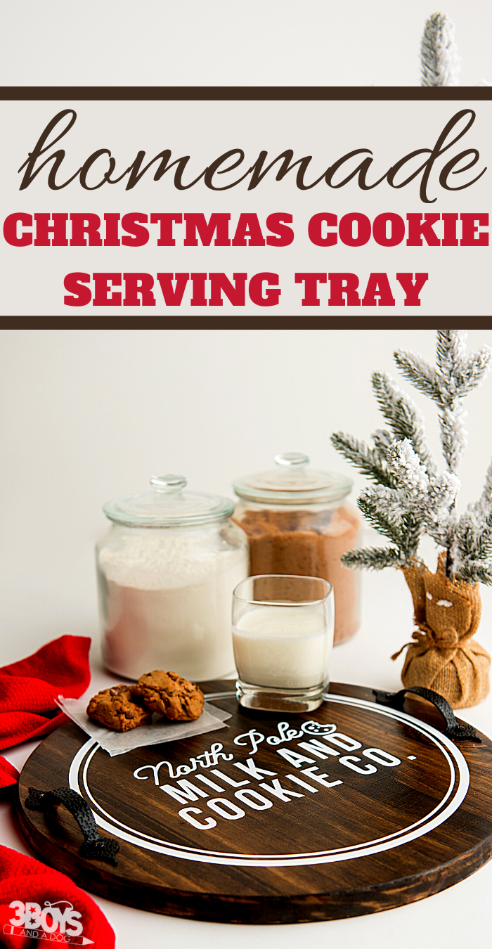 how to make your own serving tray farmhouse decor for christmas