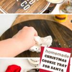 diy christmas serving tray