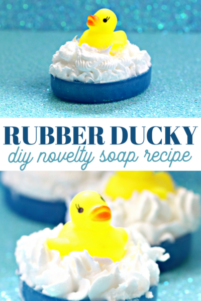 make your own rubber ducky novelty soap recipe