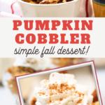best pumpkin pie cobbler recipe