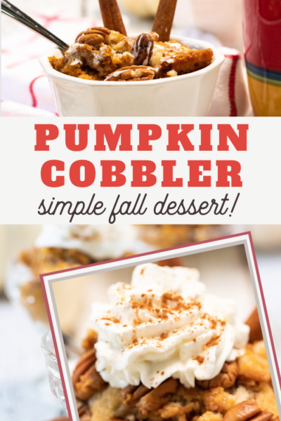 best pumpkin pie cobbler recipe
