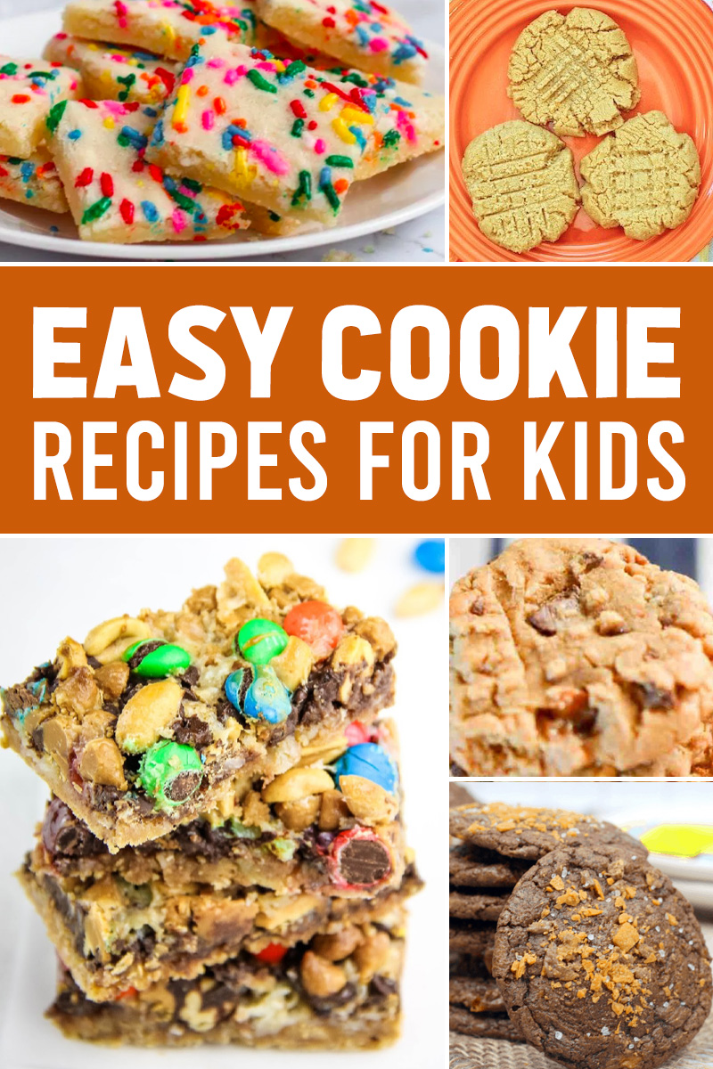 child friendly cookie recipes