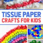 crafts for preschool using tissue paper