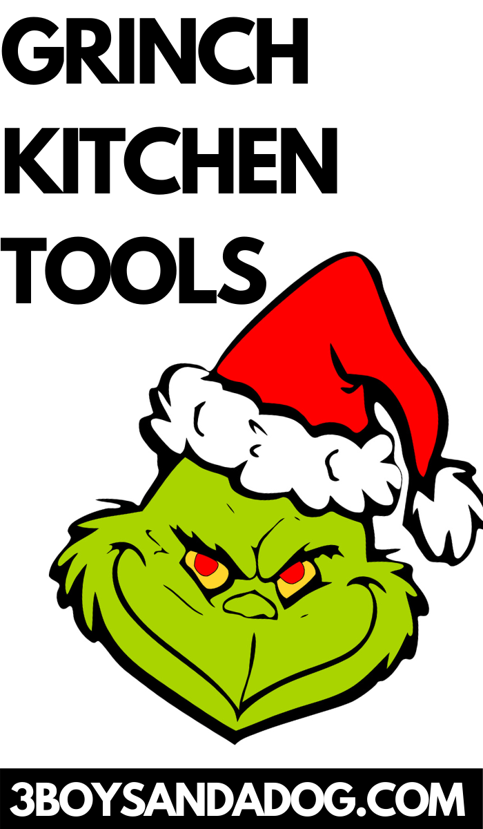 adorable The Grinch themed tools for your kitchen