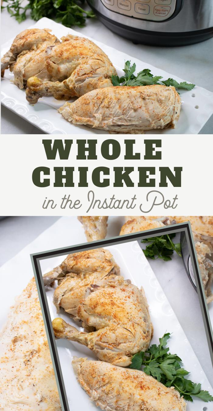 easy whole chicken instant pot recipe
