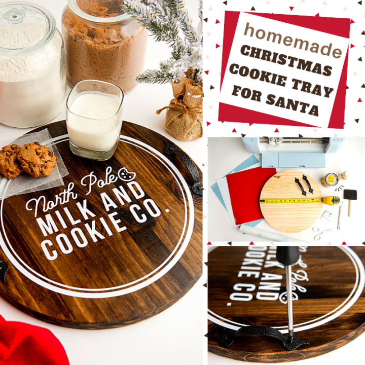 diy cookie tray decoration for a country christmas