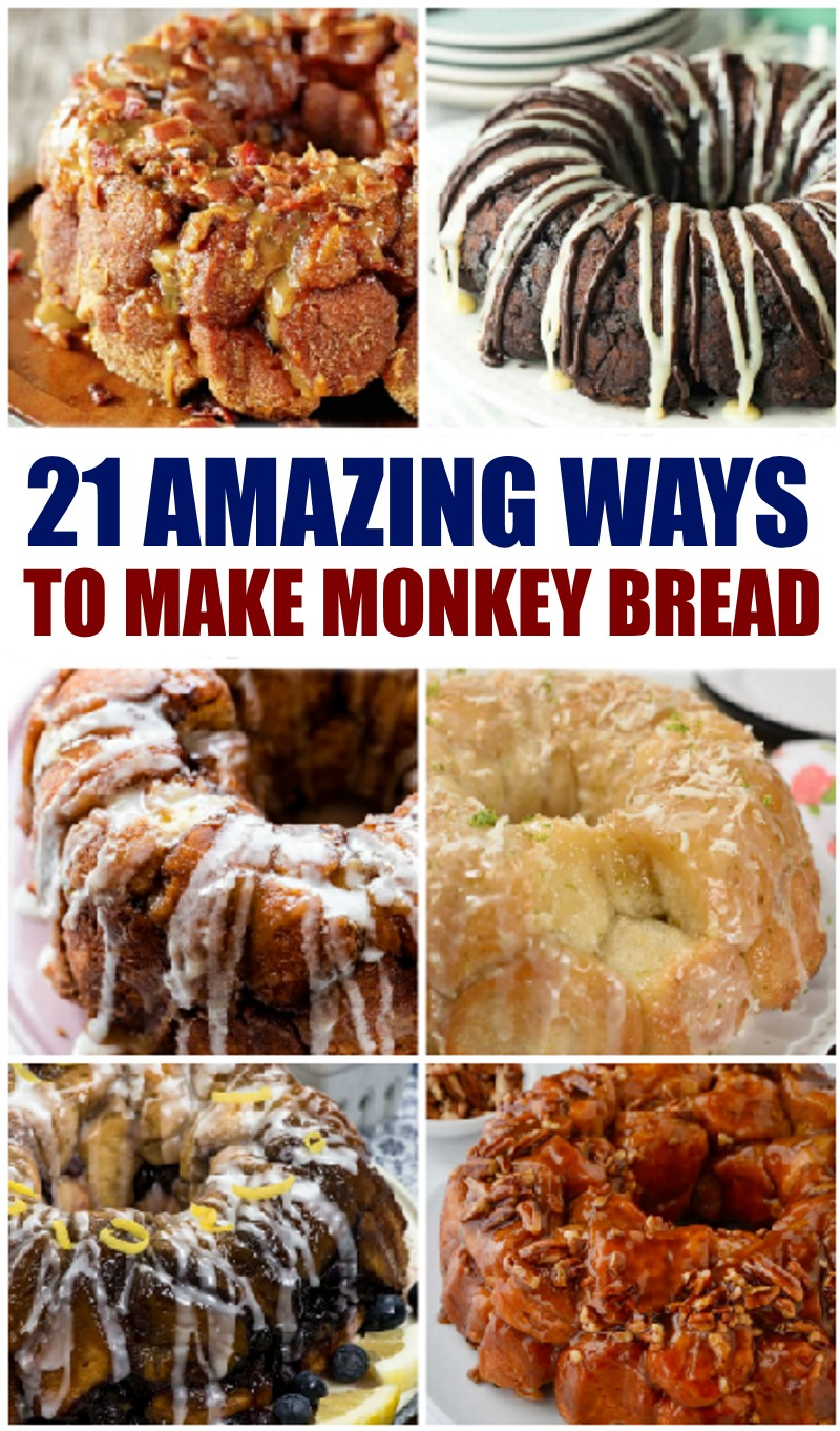 21 monkey bread recipes
