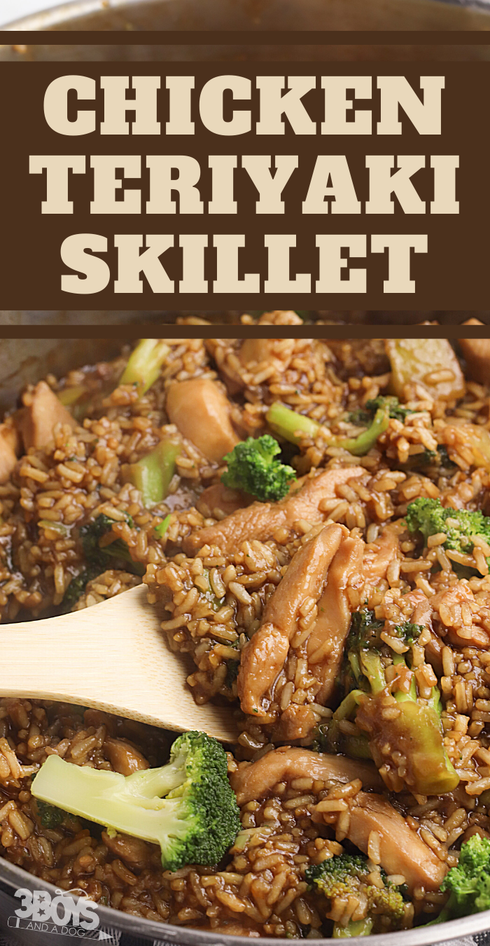 chicken teriyaki skillet