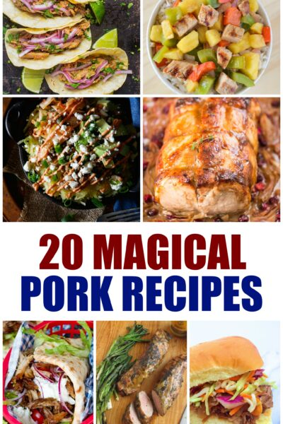 Pork Recipes for Dinner
