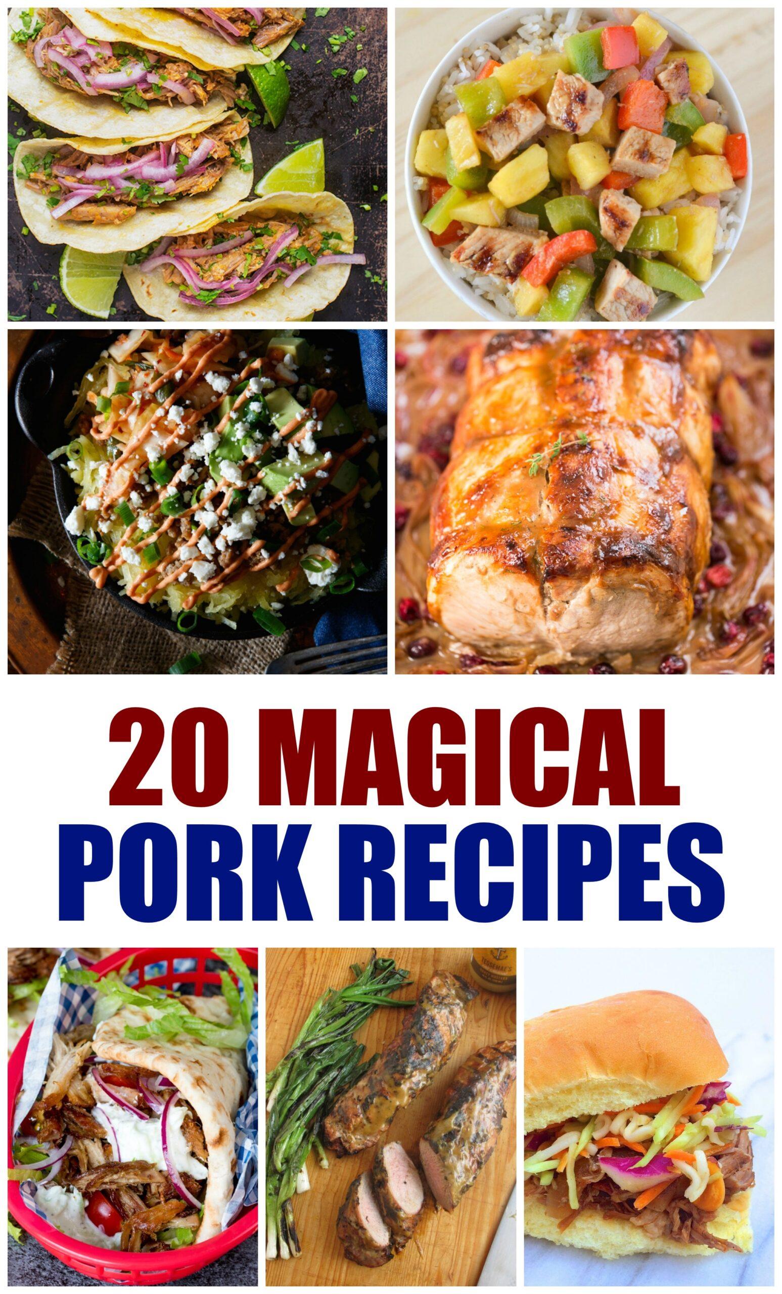 Pork Recipes for Dinner
