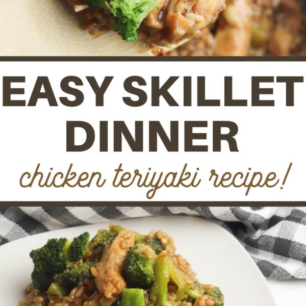 one pot recipe of teriyaki chicken and broccoli
