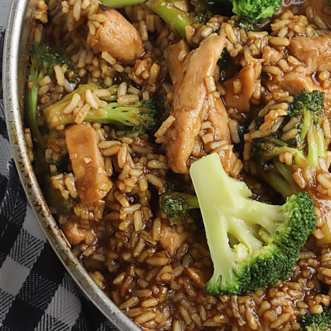 Chicken Teriyaki Skillet Recipe