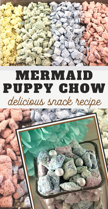 you and your kids will love this muddy buddies recipe