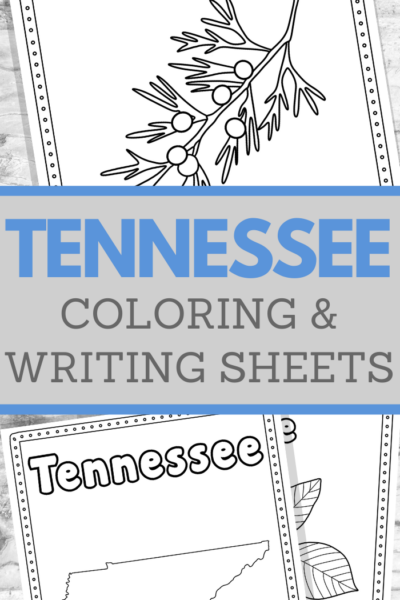 tennessee handwriting worksheets