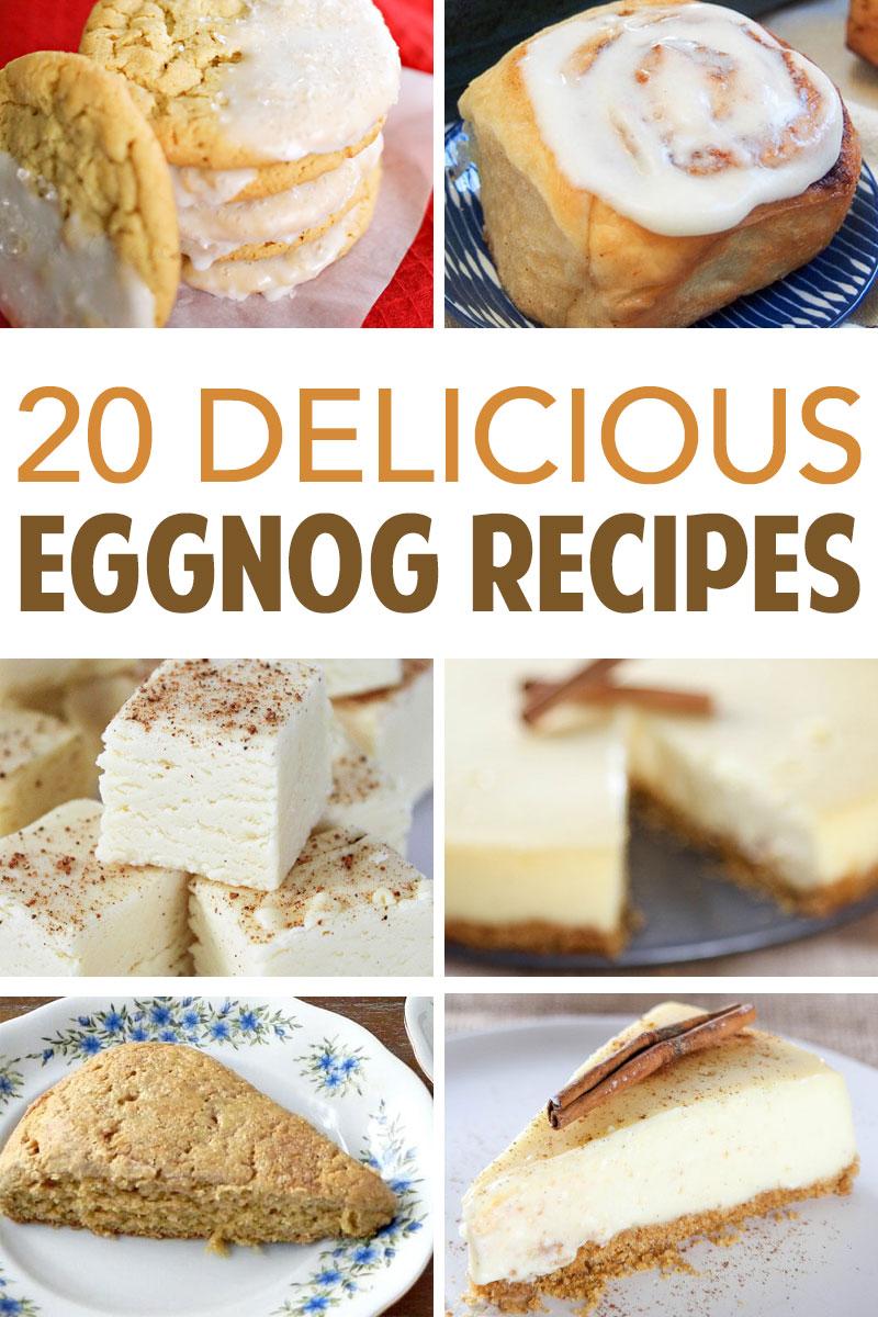 Delicious Eggnog Flavored Recipes