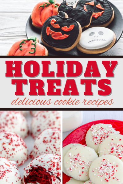 so many delicious holiday treats