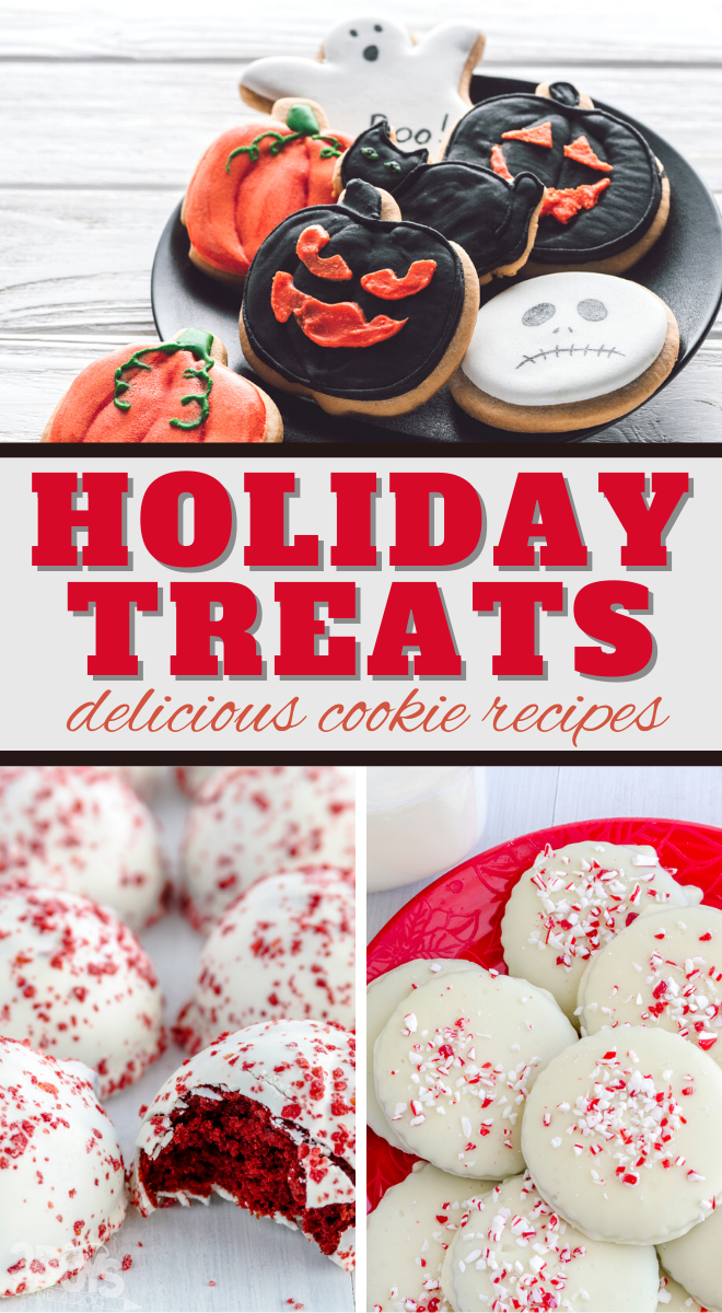 so many delicious holiday treats